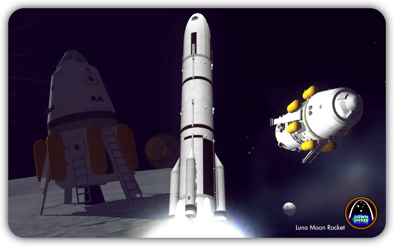 как построить ракету в kerbal space program видео