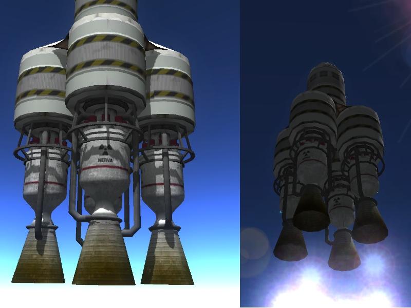 скачать моды для kerbal space program на двигатели